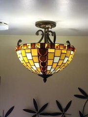 Ceiling and Dish Glass - Replacement Ceiling Lampshades - Glossy